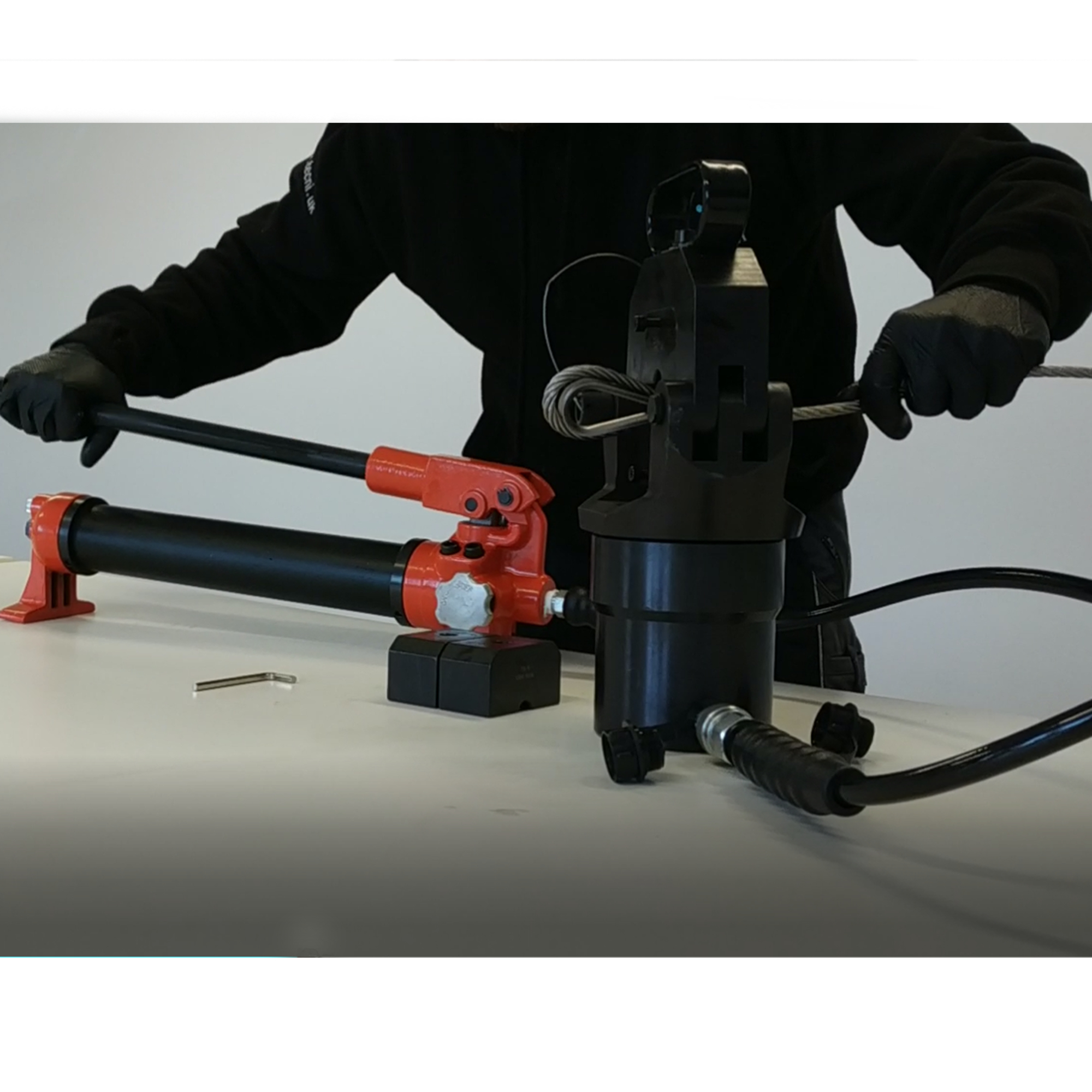 Tecni Ycf 630 Hydraulic Cable Crimper 5mm 11mm With