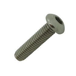 M6 x 25mm A4-AISI 316 Stainless Socket Button Bolt