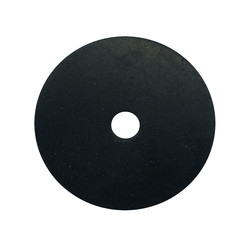 Black EPDM Washer - 30mm x 6mm x 2m