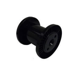 160mm x 130mm x 100mm Black Plastic Reel