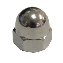 M5 RH Stainless Steel DIN 1587 Dome Nut
