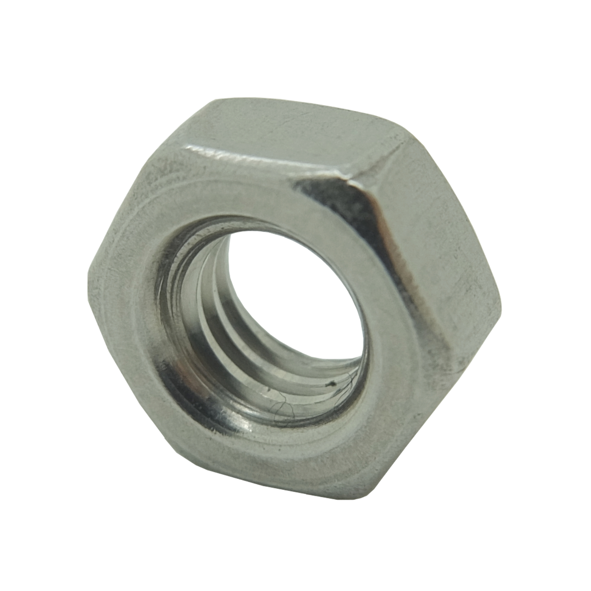 M8 RH A4-AISI 316 Stainless Steel DIN 934 Hexagon Nut
