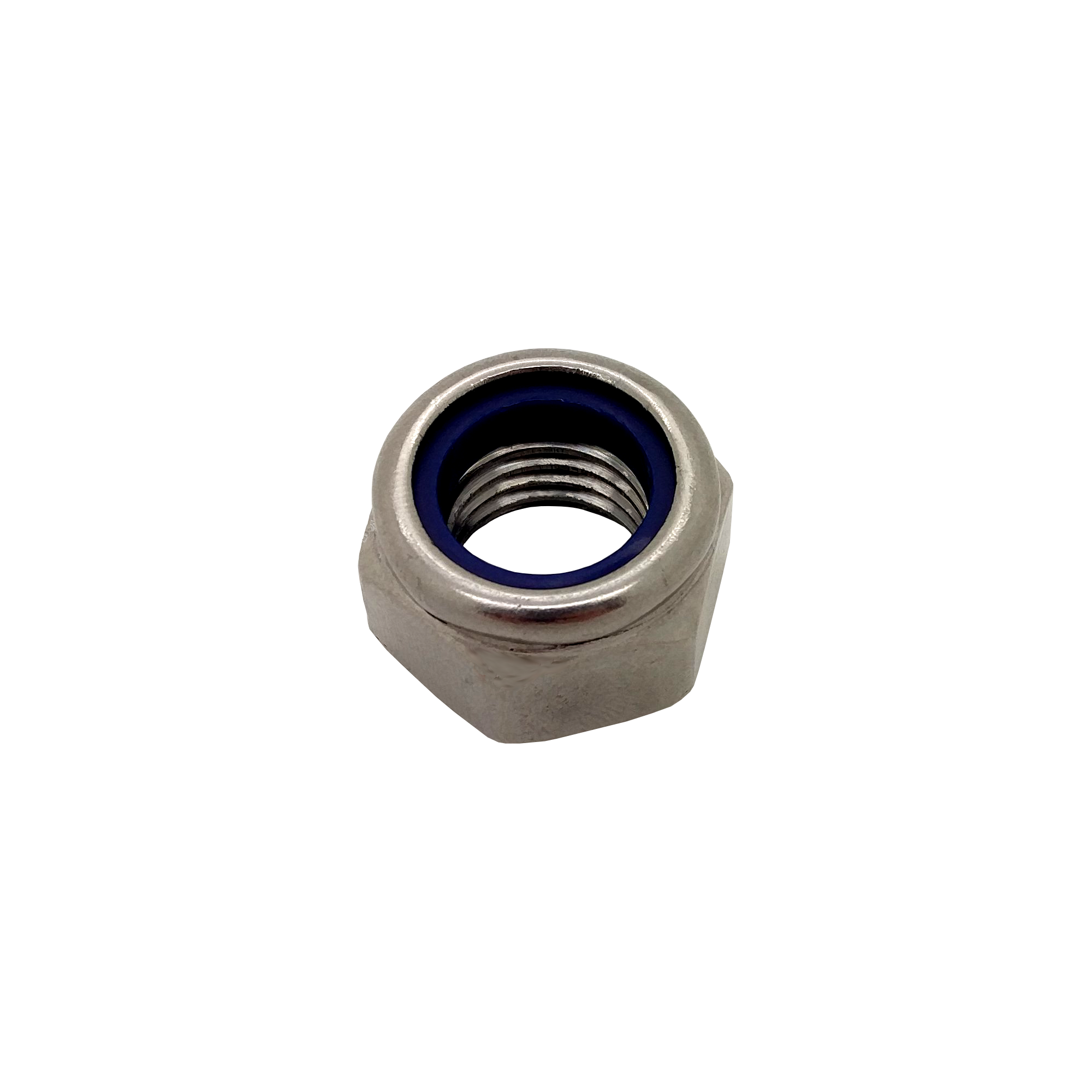 M6 RH Stainless Steel DIN 985 Hexagon Nyloc Lock Nut
