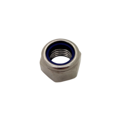 M8 RH Stainless Steel DIN 985 Hexagon Nyloc Lock Nut