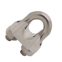 6mm Stainless Steel Wire Rope Clip or Grip DIN 741