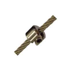 M4 Stainless Steel DIY Stop Fitting for 1mm, 1.5mm and 2mm cable