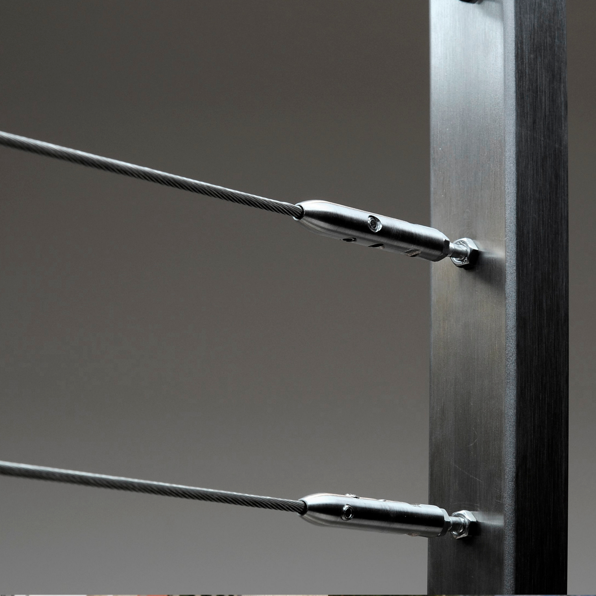 Cable Balustrade with Metal Fitting