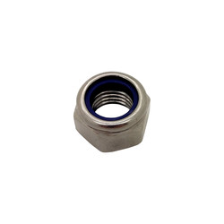Stainless Steel Hexagon Nyloc Nuts