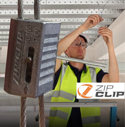 Zip-Clip Cable Suspension Systems