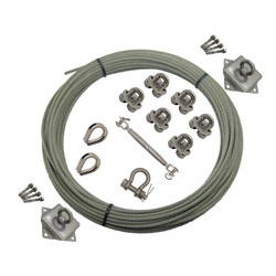 8mm-10mm Medium & Heavy Duty Stainless Steel Catenary System