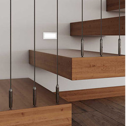 TECNI® TENSOR Balustrade Straight Runs into Wood